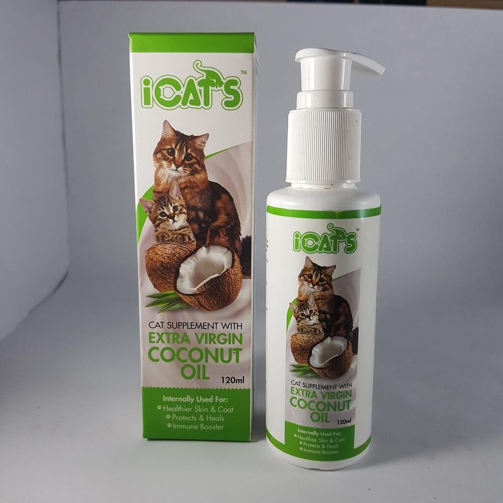 Cara Mengobati Kucing Jamuran: Berikan Minyak VCO