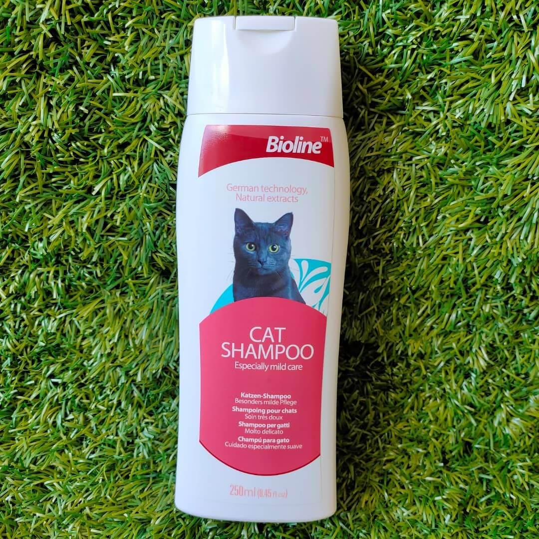 Harga Shampo Kucing: Bioline Cat Shampoo Especially Mild Care