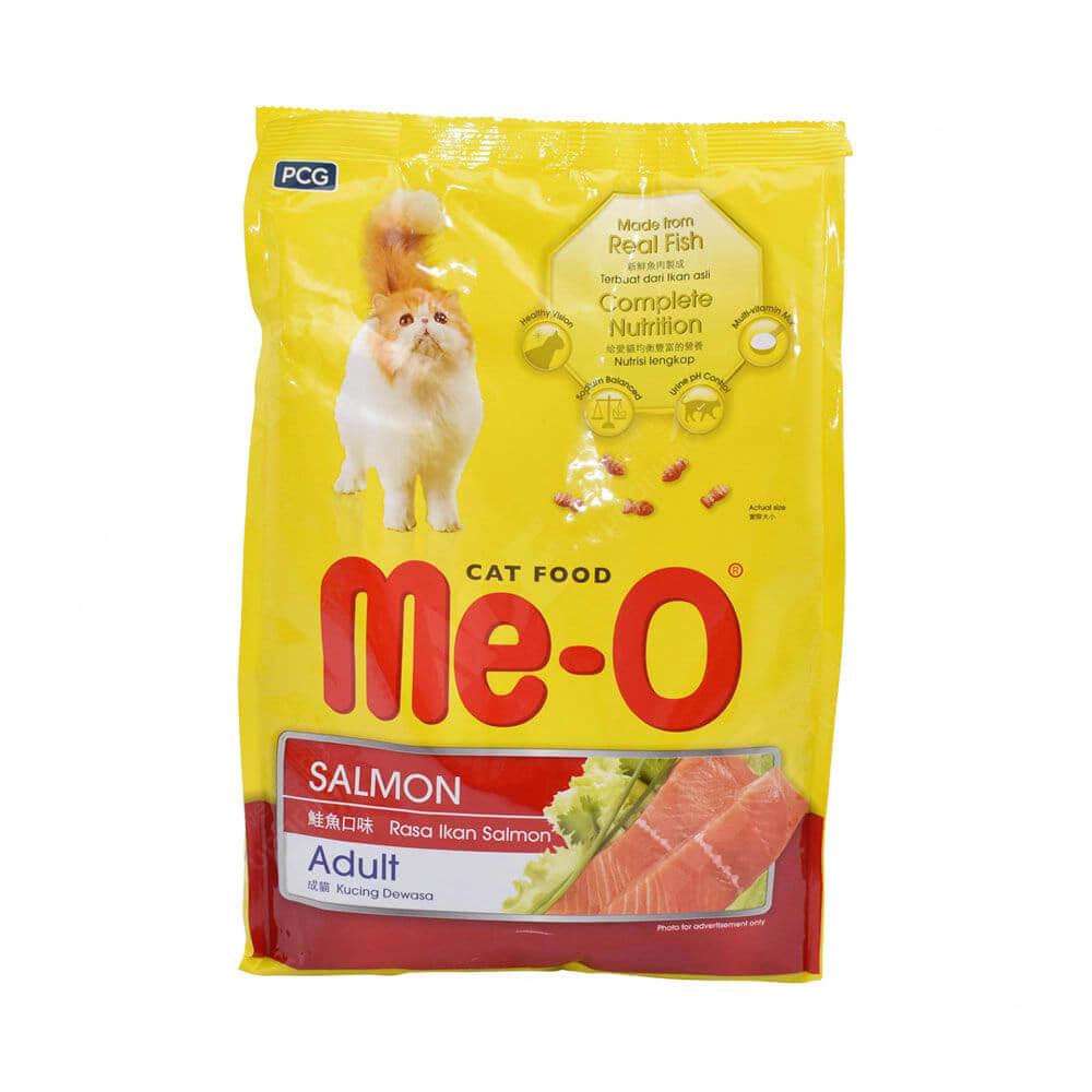 makanan kucing campuran anggora dan kampung | Me-O